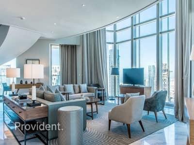 بنتهاوس 4 غرف نوم للبيع في وسط مدينة دبي، دبي - Your kind of Luxury | Burj View | Sky Collection