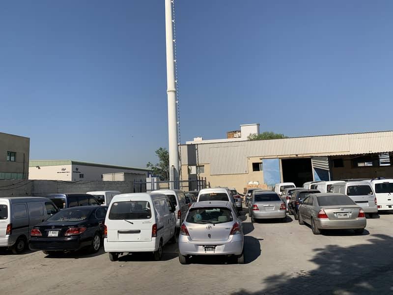 Ras Al Khor (Al Aweer) 40,000 sq. Ft open yard fully interlocked with built in offices