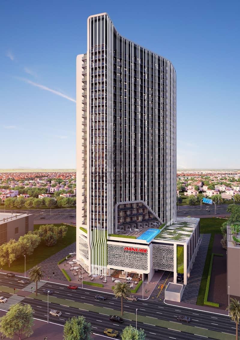 Burj Khalifa View  / 50% Post  Handover Payment Plan