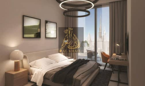 Studio for Sale in Business Bay, Dubai - High-End Studio Apartments for sale in Downtown Dubai in front of Dubai Canal | Easy Payment Plan