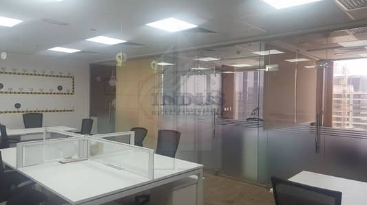 Office for Rent in Jumeirah Lake Towers (JLT), Dubai - Amazing Fully Furnished Spacious Office in Gold Tower JLT!
