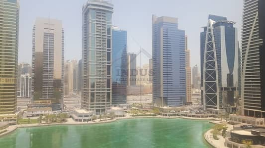 Office for Rent in Jumeirah Lake Towers (JLT), Dubai - Fitted Office Space with Amazing Full Lake View