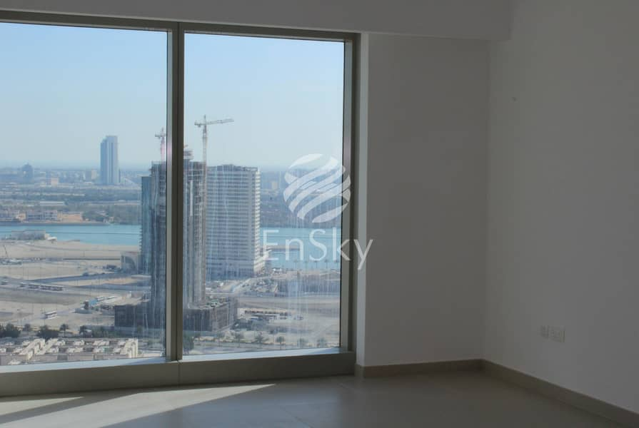 1 Gorgeous 2 Bedroom Plus Maid Room With City View!