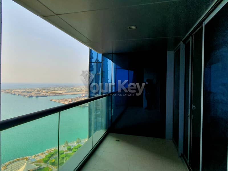 2 Calm with Scenic View of Corniche with Balcony