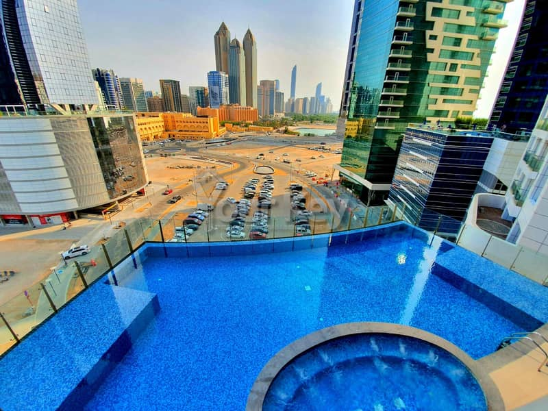 Captivating View from 1BR with Modern Facilities
