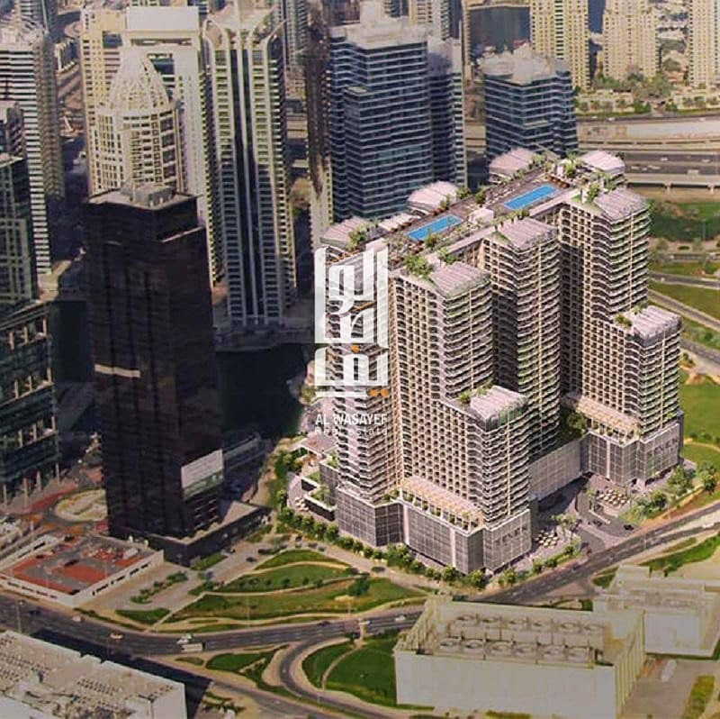 10 Limited offer!! furnished Studio   Starting price 375k Aed!! 5%  Booking