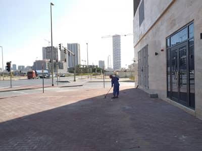 Shop for Rent in Jumeirah Village Circle (JVC), Dubai - Perfect Corner Location for A Shop at JVC Main Intersection