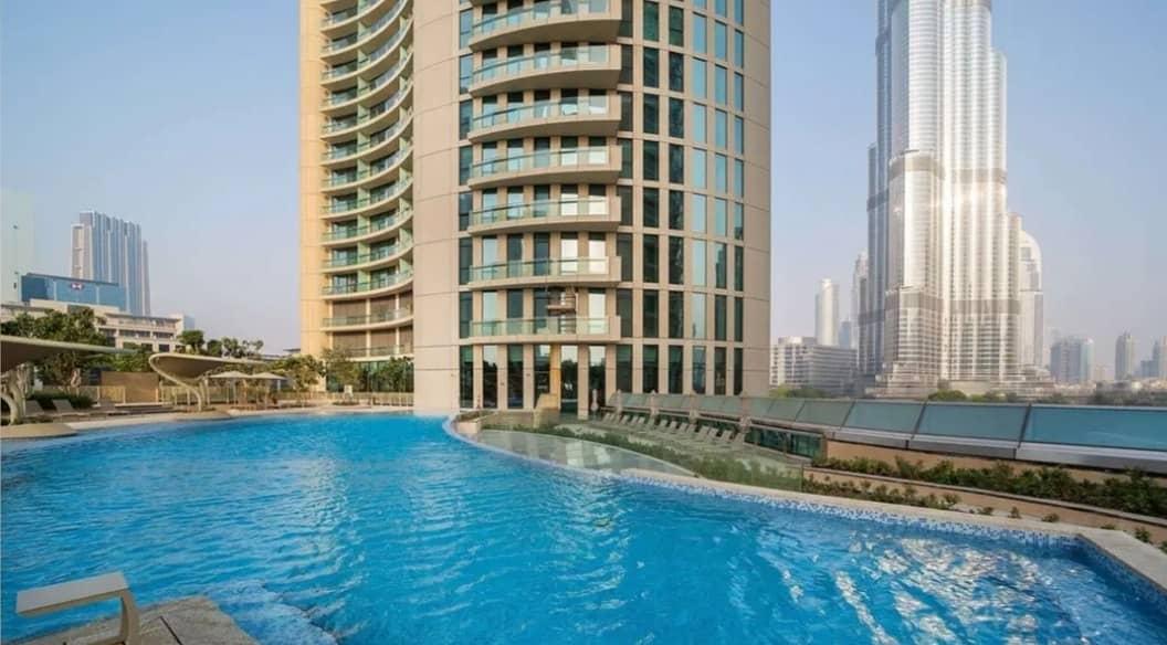 High floor | Unfurnished | 2 bedroom apartment For Rent