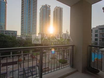 فلیٹ 3 غرف نوم للايجار في ذا فيوز، دبي - Lake Views | Chiller Free | Well Maintained