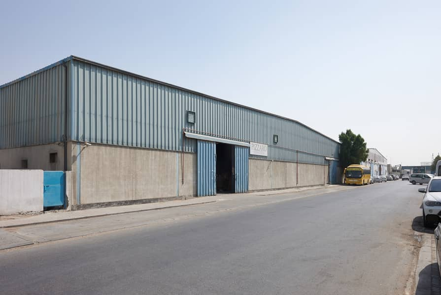 Two Massive Warehouses with Mezzanine Floors in Sharjah Ind Area 11