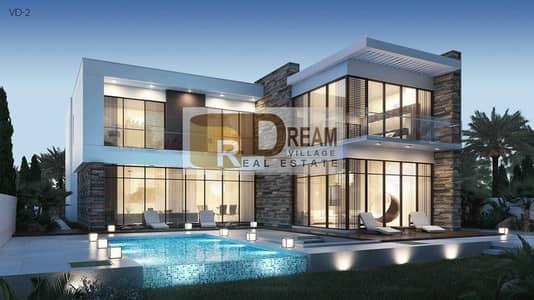 فیلا 6 غرف نوم للبيع في داماك هيلز (أكويا من داماك)، دبي - I own a 6-room villa on golf directly in installments over 3 years