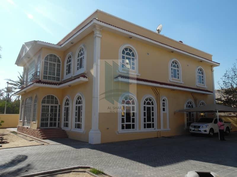 2 Fabulous 9 BR villa in prime location in Abu hail