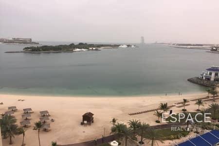 فلیٹ 1 غرفة نوم للايجار في نخلة جميرا، دبي - Beach Access - Sea Views - High Floor