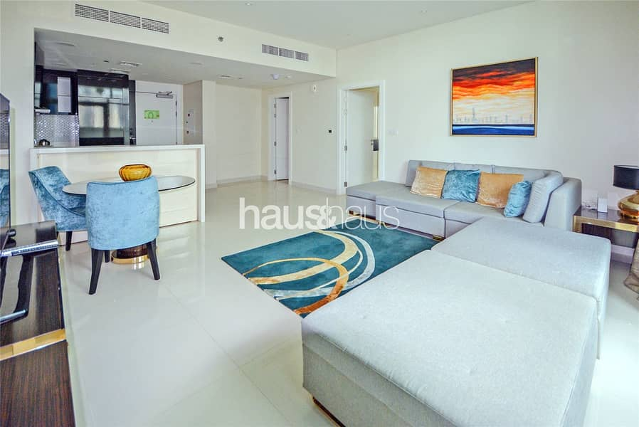 Huge One Bed | Fully Furnished | Bay View