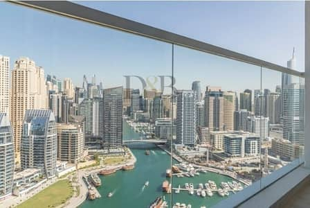 2 Bedroom Flat for Sale in Dubai Marina, Dubai - 2 BR Apartment Marina View Available Now