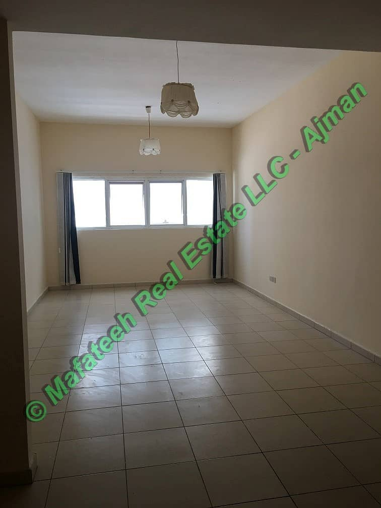 Studio Apartment for Rent In Ajman One Tower in Very Low Price And Medium Floor in Four payment 17k