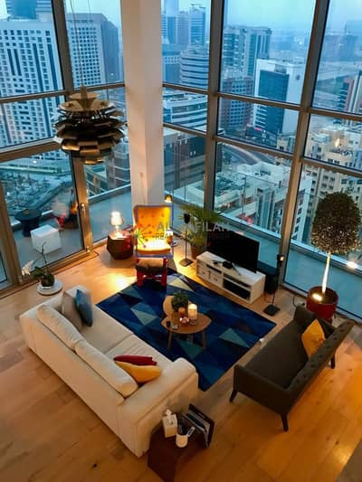 1 Bedroom Penthouse for Rent in Barsha Heights (Tecom), Dubai - | Amazing City Skyline View | Loft Style Penthouse |