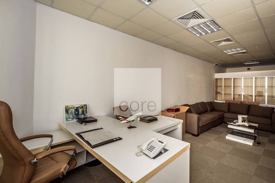 Fitted Office with Partitions   Low Floor