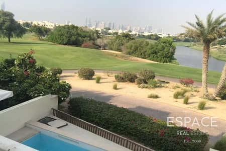 3 Bedroom Villa for Rent in Emirates Hills, Dubai - Skyline View - Fully Upgraded - Clubhouse