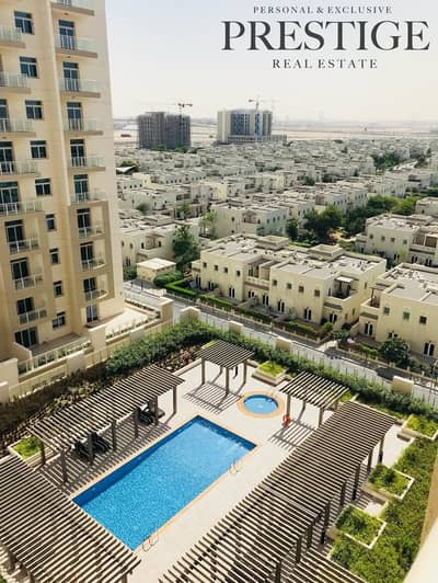 2 Bedroom Flat for Sale in Al Furjan, Dubai - 2 Bed | Near Metro | Pool View | Wooden Floor