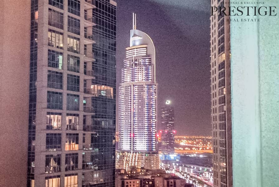 11 Dubai Downtown | 1 Bedroom | Unfurnished