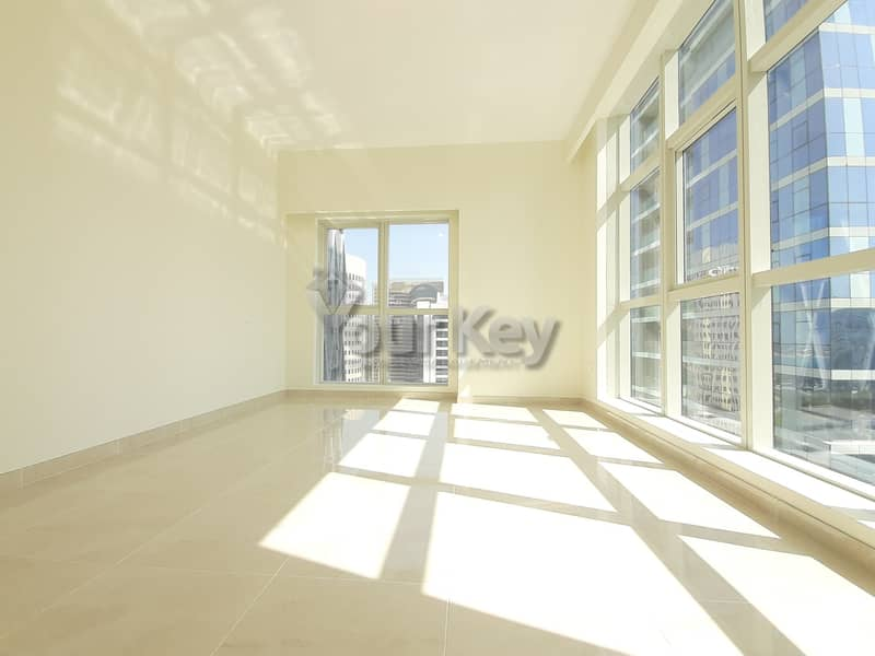 Well-Kept as Brand New 1BR with Maids room