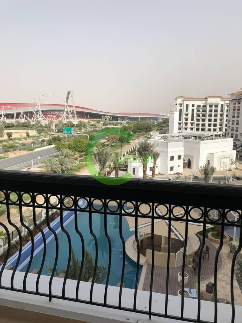 2 Luxuriously spacious|Ferrari World Views| Maid room
