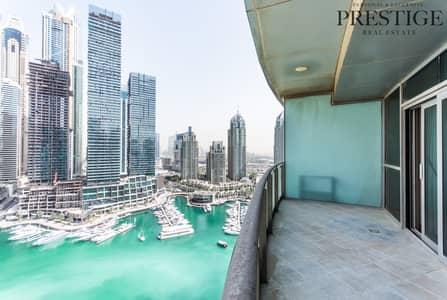 3 Bedroom Apartment for Sale in Dubai Marina, Dubai - 3 Bed I Full Marina View I Exclusive | Vacant