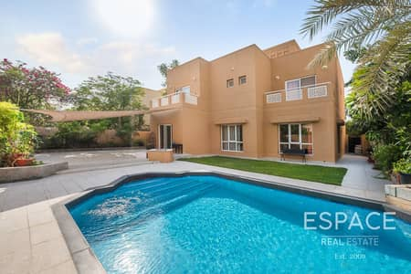 5 Bedroom Villa for Rent in The Meadows, Dubai - Fully Upgraded - 5 Bedroom - Private Pool