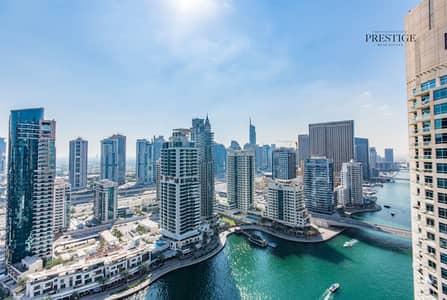 شقة 2 غرفة نوم للايجار في دبي مارينا، دبي - Fully Furnished Marina View 2 Beds Chiller Free