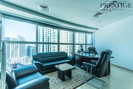 Office for Sale in Barsha Heights (Tecom), Dubai - Fully Fitted Office Rented Damac Smart Heights