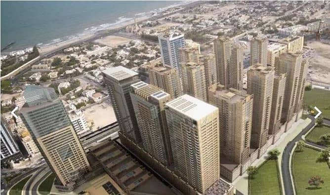Neat and Clean furnished 2 Bedroom apartment with parking  for sale in Ajman One Tower