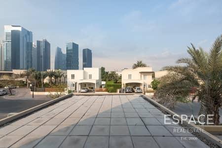 فیلا 4 غرف نوم للايجار في السهول، دبي - Landscaped Garden   Single Row   Extended