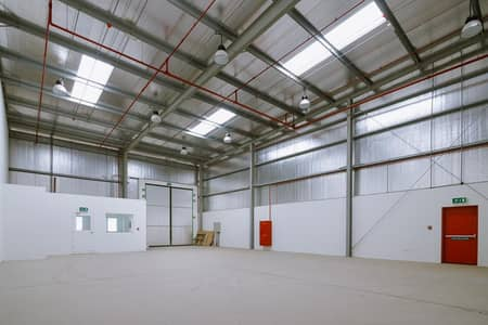 Warehouse for Rent in Saif Zone (Sharjah International Airport Free Zone), Sharjah - Very Spacious Warehouse Available for Lease in Saif Zone | Sharjah