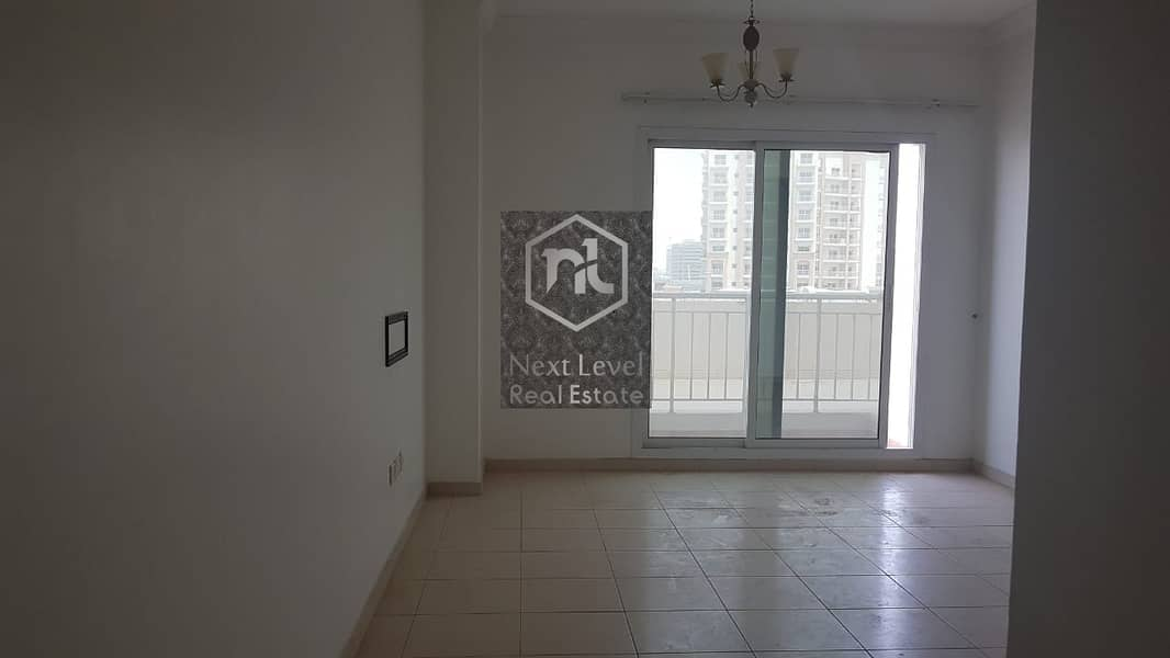 11 One Bedroom with Two balconies available for Rent Liwan Quepoint Dubailand