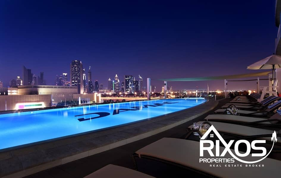 2 1BHK FOR RENT IN DAMAC SIGNATURE DOWNTOWN CHILLER FREE