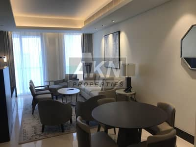 1 Bedroom Apartment for Rent in Downtown Dubai, Dubai - Luxury 1BR with Balcony & Burj Khalifa View