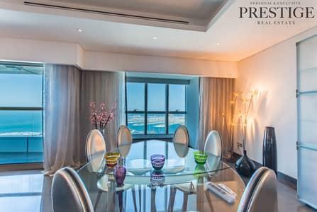3 Bedroom Flat for Sale in Dubai Marina, Dubai - 3 Bed   Full Sea View   3 Parking Dubai Marina