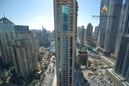 2 Bedroom Flat for Rent in Dubai Marina, Dubai - Marina View - High Floor -  Chiller Free