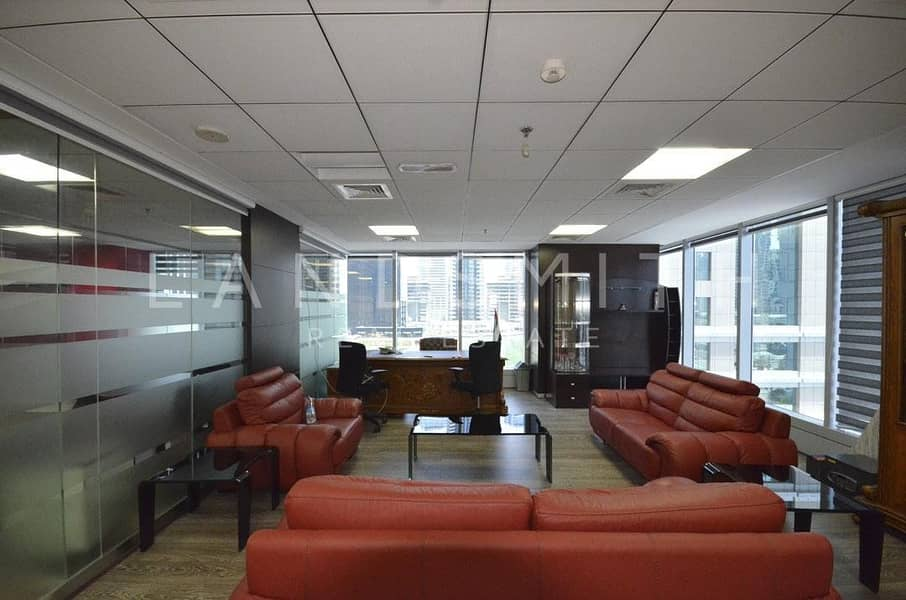 Beautiful Office Space in Saba Tower  1