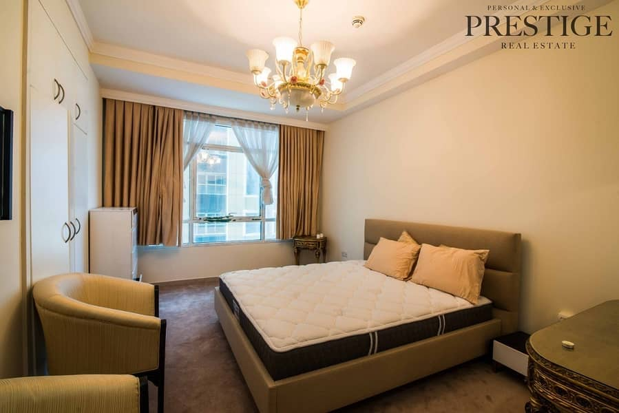 2 1 Bed | Marina Crown | Furnished _ Sea View