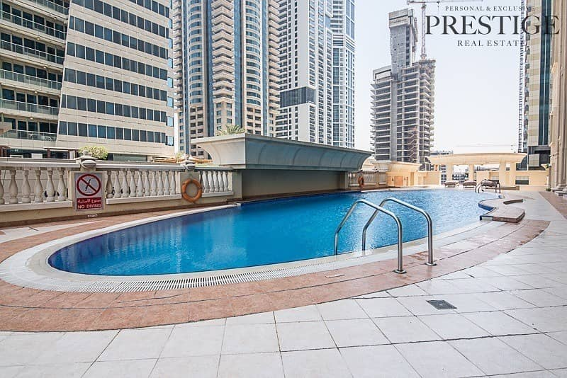 14 1 Bed | Marina Crown | Furnished _ Sea View
