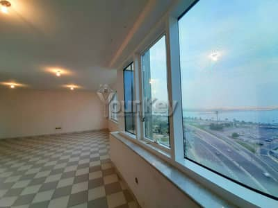 4 Bedroom Apartment for Rent in Corniche Road, Abu Dhabi - Magnificent Sea view 4 bedroom with 2 master bedroom
