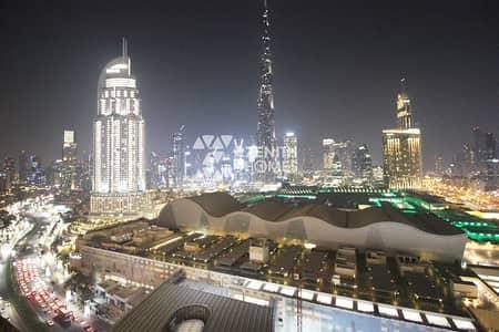 1 Bedroom Flat for Sale in Downtown Dubai, Dubai - Burj Khalifa View 1Bed + Study   Rare Layout  