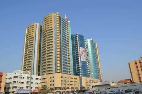 2 Bedroom Apartment for Rent in Ajman Downtown, Ajman - very nice clean 2BHK for rent in Horizon Tower