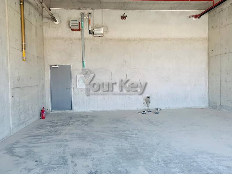 2 Brand New Building Fitted Shop near AUH Airport