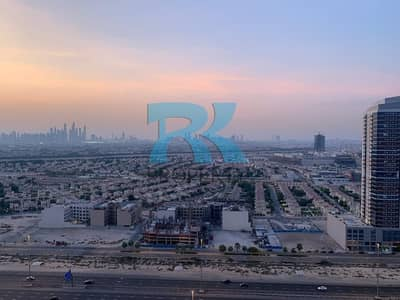 2 Bedroom Flat for Rent in Dubai Production City (IMPZ), Dubai - SKYLINE VIEW