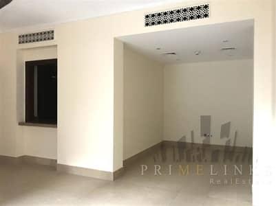 شقة 1 غرفة نوم للايجار في المدينة القديمة، دبي - Excellent Condition 1 Bed Balcony Unfurnished