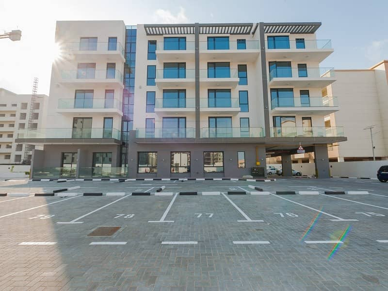 ONE MONTH FREE! 1 B/R Apartments in a Brand New Bldg | Pool & Gym | Al Barsha
