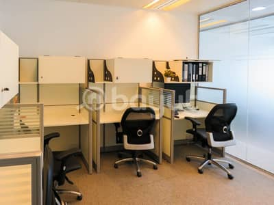 Office for Rent in Bur Dubai, Dubai - Stunning Flexi Desk Office with Fantastic Location | Fully Furnished| Fully Serviced|Near to Metro|with Tenancy Contract